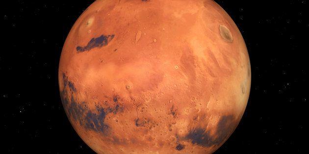 Marte podría contener suficiente oxígeno para sustentar la vida, según la