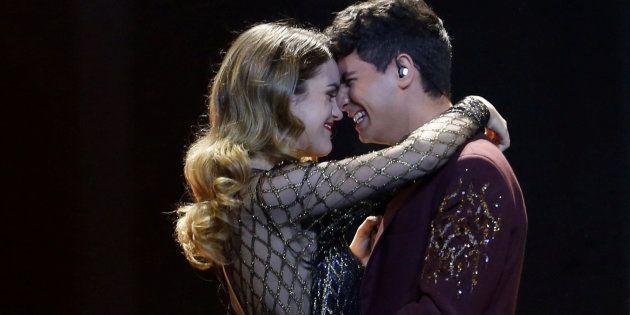 El instante íntimo entre Alfred y Amaia en Eurovisión que no se ha visto en