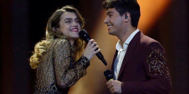 La emotiva publicación de Alfred tras actuar en Eurovisión que arrasa en