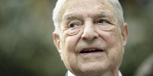 El multimillonario y filántropo estadounidense George Soros, en una imagen de