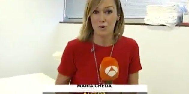 Momento de las noticias de Antena