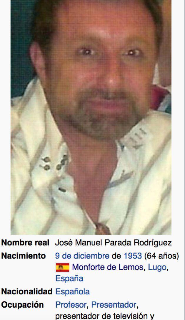 Estupefacción por lo que se puede ver en el perfil de José Manuel Parada en