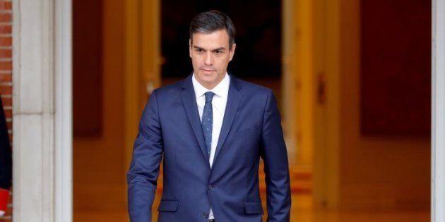 El presidente del Gobierno español, Pedro