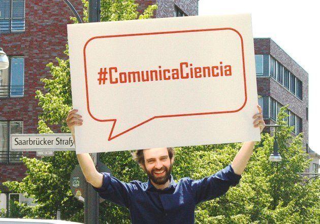 La etiqueta #ComunicaCiencia en las calles de