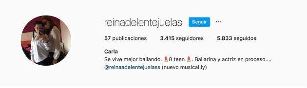 Instagram privado de Carla Vigo