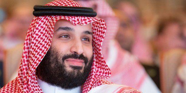 El príncipe heredero saudí, Mohamed bin
