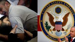 EEUU abre su polémica embajada en Jerusalén con un baño de sangre en