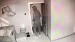 Una familia ve en directo a un ladrón robando en su casa gracias a una aplicación del