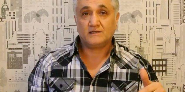 El periodista turco Hamza