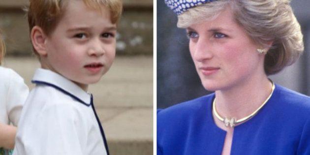 Lo que el príncipe Jorge y la princesa Diana tienen en