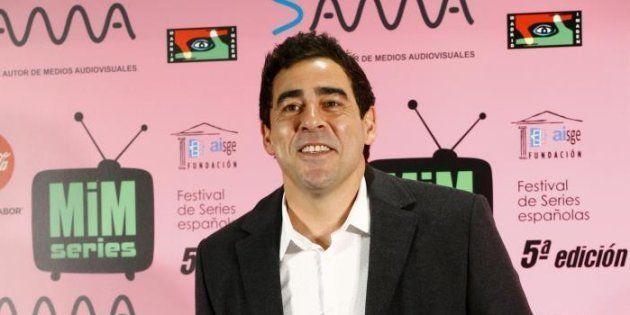 El actor Pablo Chiapella a su llegada a un
