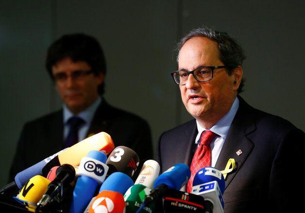 Torra pedirá por carta una reunión a Rajoy para exigirle que levante el