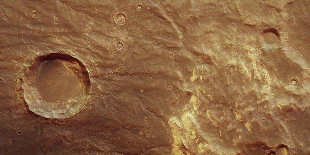 La ESA publica una serie de fotografías que revelan el pasado volcánico de