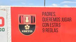 Un club de fútbol de Navarra publica nueve reglas para que los padres no se pongan