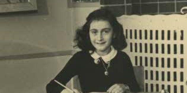 Ana Frank en 1940, en el Montessorischool de Ámsterdam. Fotógrafo