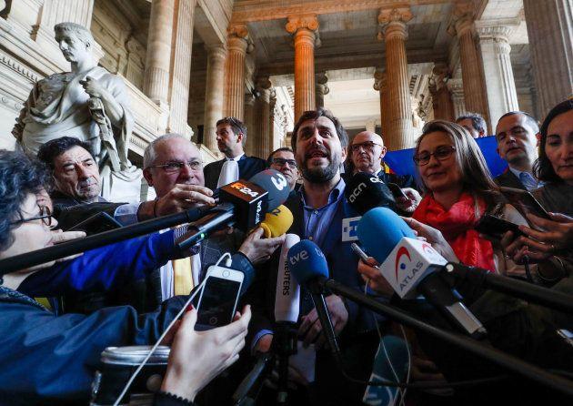 La Justicia belga rechaza la entrega a España de Comín, Serret y