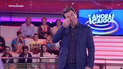 Hasta las lágrimas: Arturo Valls se emociona por las palabras de un