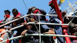 Las mafias de tráfico de personas arrojan otros 180 inmigrantes al mar frente a las costas de