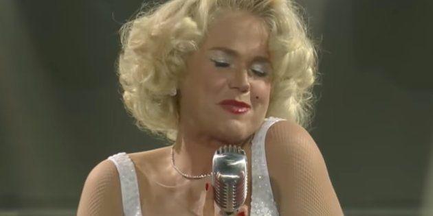 ¿Te acuerdas de Xuxa? Está dando mucho que hablar por esta imitación de Marylin