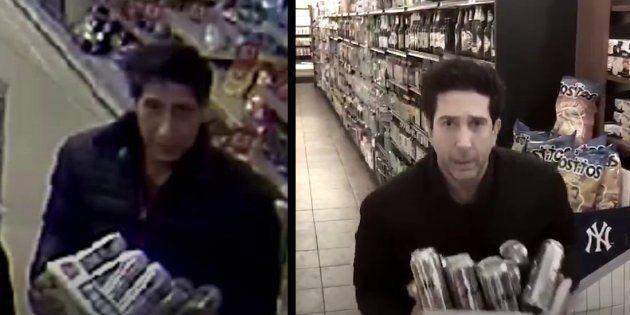 El ladrón en Blackpool y David Schwimmer en Nueva