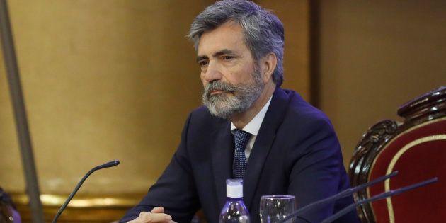 El presidente del Tribunal Supremo, Carlos
