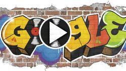 El Doodle de Google celebra el nacimiento del 'hip