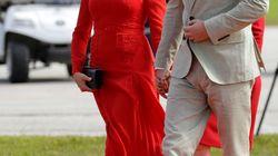 Meghan Markle vive un momento 'tierra, trágame' con este vestido