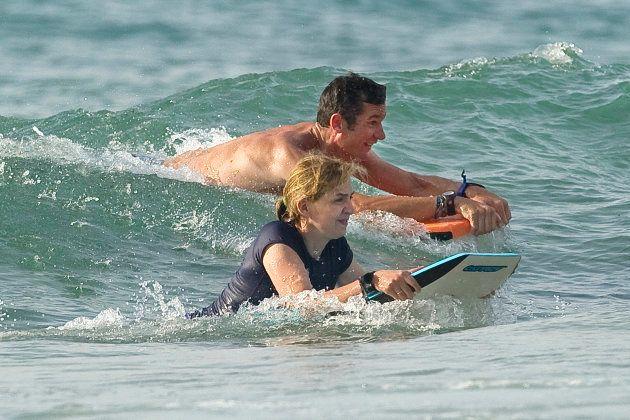 La foto de 2012 de la infanta y Urdangarin en la playa que indigna en