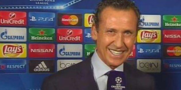 Jorge Valdano la lía con este comentario en el minuto 1 del Marsella-Atlético de