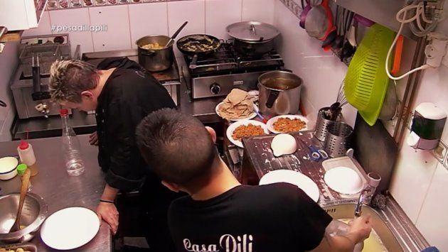 Chicote se enfrenta al ataque de ansiedad de una cocinera:
