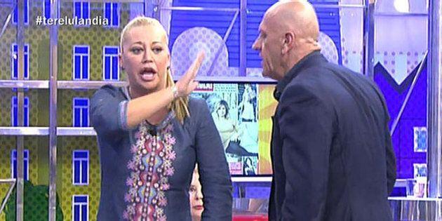 La confesión de Belén Esteban que se filtra en directo en 'Sálvame' tras una bronca sobre 'GH