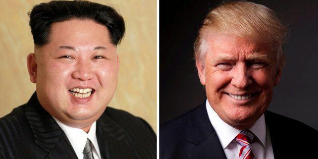 Alguien ha intercambiado los peinados de Trump y Kim Jong Un y el resultado te provocará