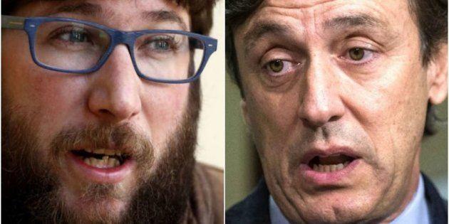 Miguel Urban (Podemos) y Rafael Hernando