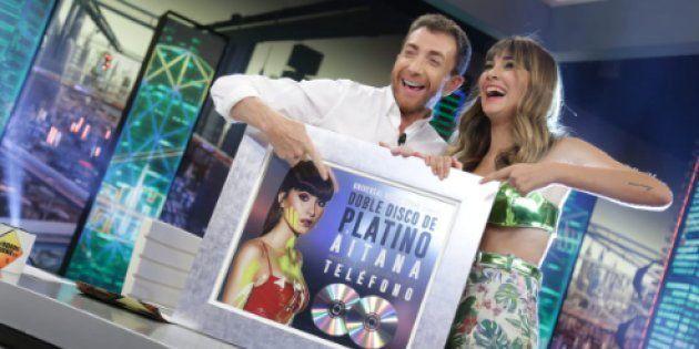 Aitana y Pablo Motos en 'El