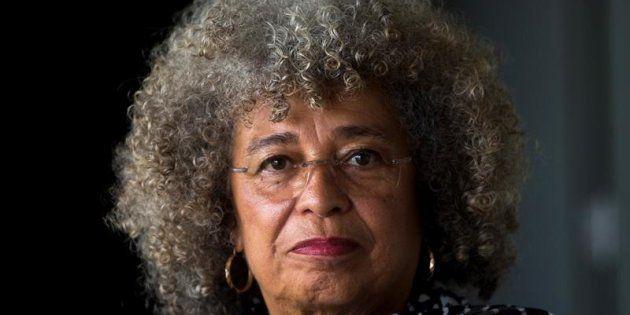 La histórica filósofa y activista afroamericana Angela
