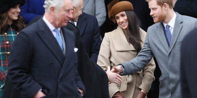 El príncipe Carlos acompañará al altar a Meghan Markle en su