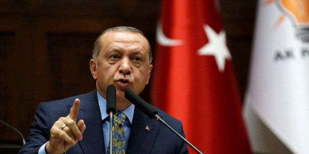El presidente turco, Recep Tayyip