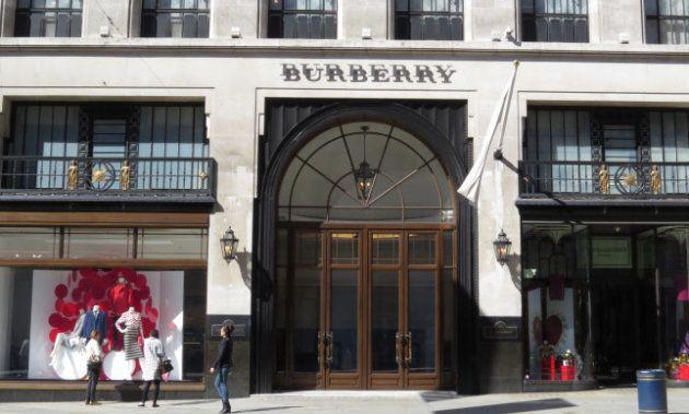 Burberry, el lujo