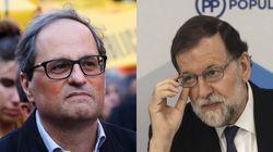 """Torra envía una carta a Rajoy en la que le pide diálogo """"mañana mismo y sin"""