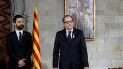 Torra pide una reunión por carta a Rajoy para dialogar sin