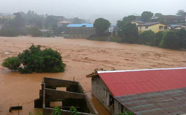 Al menos 312 personas muertas en Sierra Leona debido a las