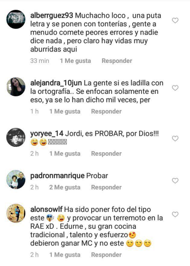 Críticas al cocinero Jordi Cruz por un detalle en su última foto en