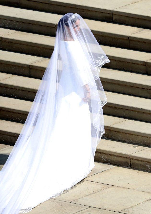 Todos los secretos del vestido de novia de Meghan