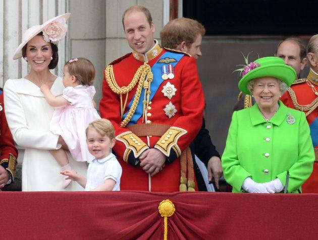 En el cumpleaños de la reina Isabell II en