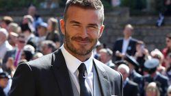 El comentario unánime en Twitter sobre Beckham a su llegada a la boda