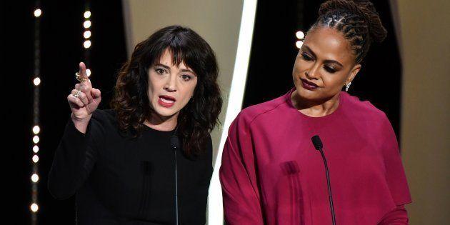 Asia Argento en la clausura de Cannes: