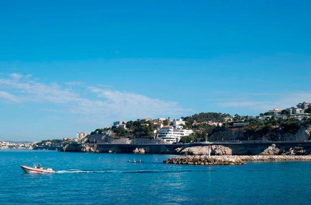 Imagen del parque Talabot en Marsella, en el sur de Francia, donde supuestamente ha estado alojada la...
