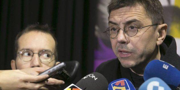 Monedero admite que Iglesias y Montero han cometido el