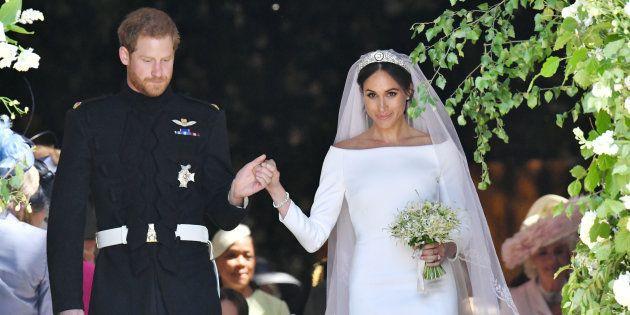 La casa real británica publica las primeras fotos oficiales de la boda del príncipe Enrique y Meghan