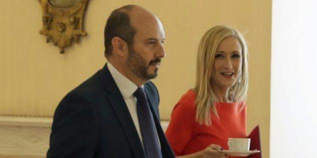 Pedro Rollán y Cristina